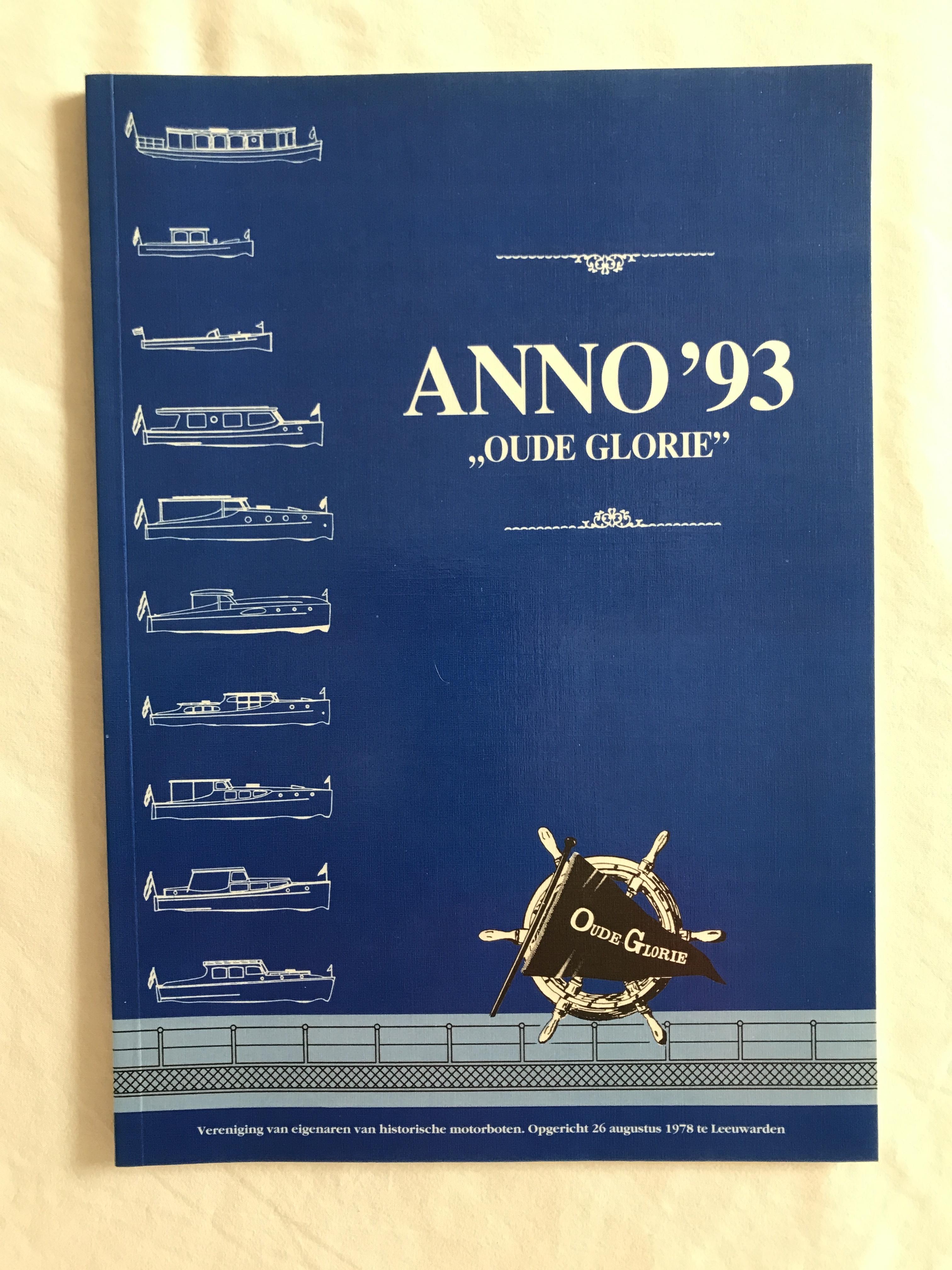 Boek Anno '93